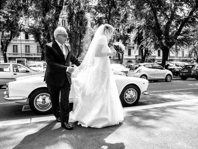 Il matrimonio di Filippo e Gloria a Milano, Milano 34