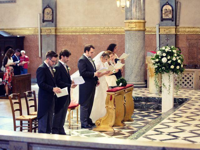 Il matrimonio di Filippo e Gloria a Milano, Milano 40