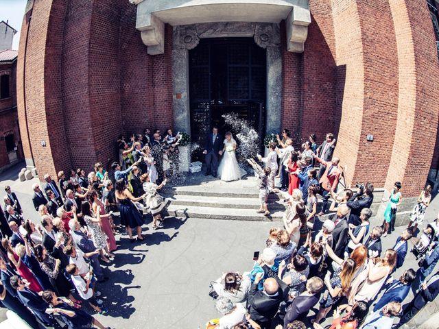 Il matrimonio di Filippo e Gloria a Milano, Milano 53