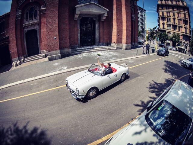 Il matrimonio di Filippo e Gloria a Milano, Milano 55