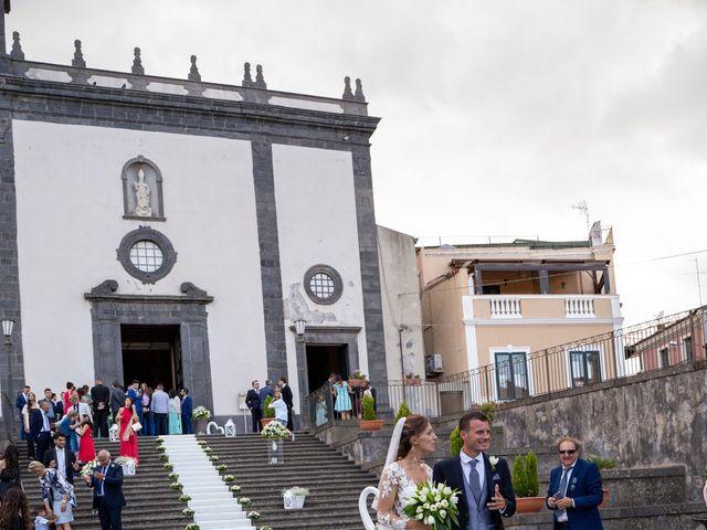Il matrimonio di Valentina e Francesco a Pedara, Catania 39