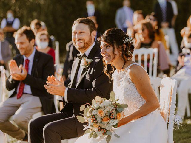 Il matrimonio di Monica e Luca a Miglianico, Chieti 87