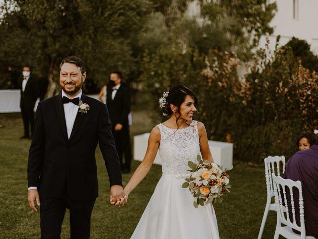 Il matrimonio di Monica e Luca a Miglianico, Chieti 111