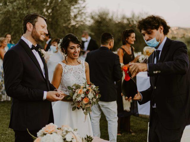 Il matrimonio di Monica e Luca a Miglianico, Chieti 112
