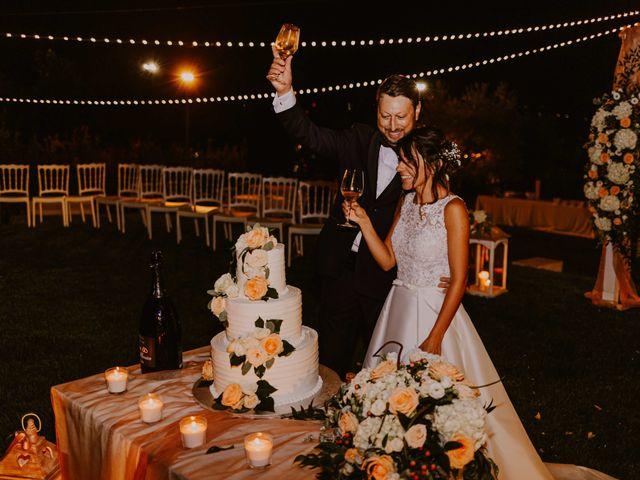 Il matrimonio di Monica e Luca a Miglianico, Chieti 164