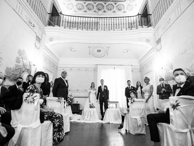 Il matrimonio di Luca e Cecilia a San Miniato, Pisa 28