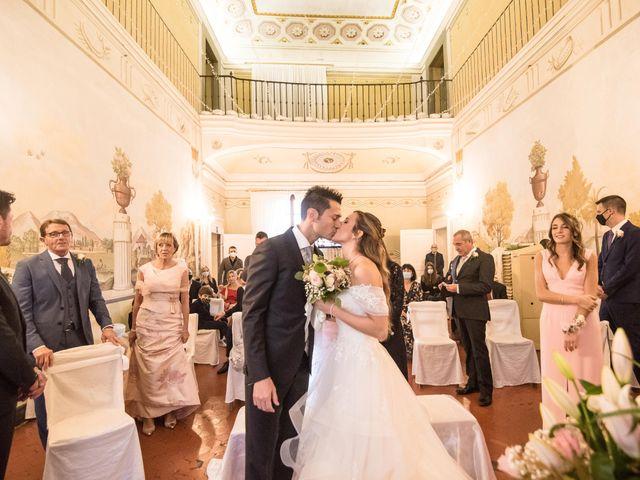 Il matrimonio di Luca e Cecilia a San Miniato, Pisa 34