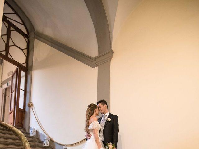 Il matrimonio di Luca e Cecilia a San Miniato, Pisa 37
