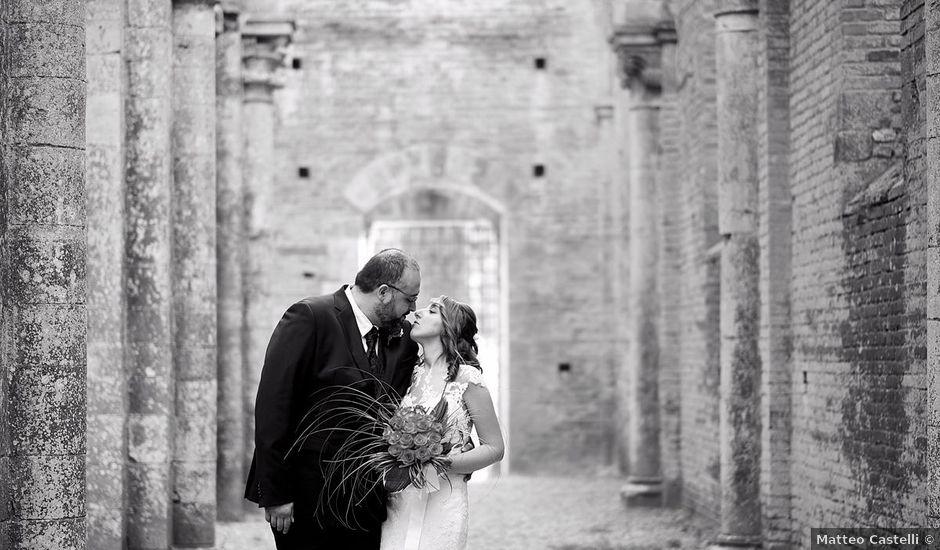 Il matrimonio di Alessio e Sara a Chiusdino, Siena