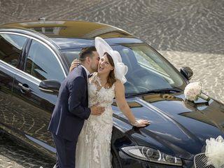 Le nozze di Italia e Amodio