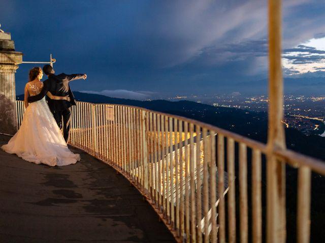 Il matrimonio di Marco e Barbara a Pecetto Torinese, Torino 43