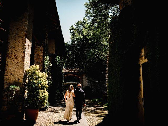 Il matrimonio di Marco e Luisa a Comignago, Novara 27