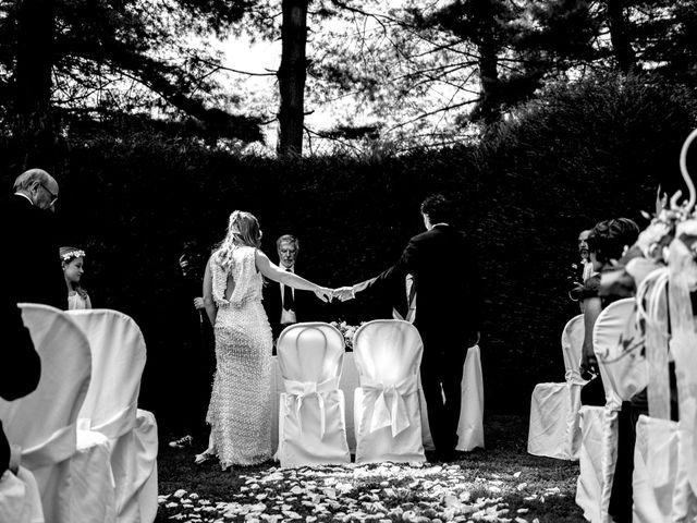 Il matrimonio di Marco e Luisa a Comignago, Novara 31