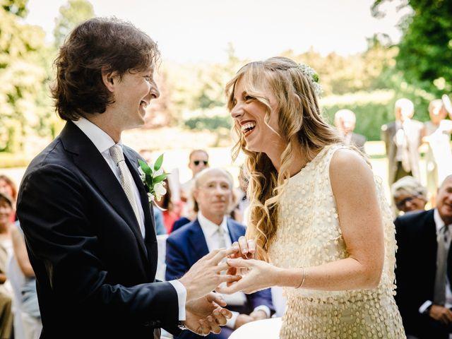 Il matrimonio di Marco e Luisa a Comignago, Novara 35