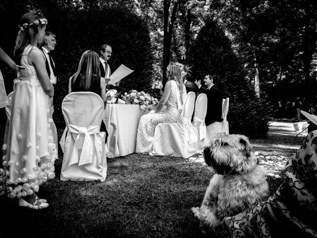 Il matrimonio di Marco e Luisa a Comignago, Novara 36