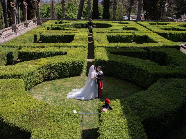 Il matrimonio di Gabriele e Maria Teresa a Roma, Roma 29