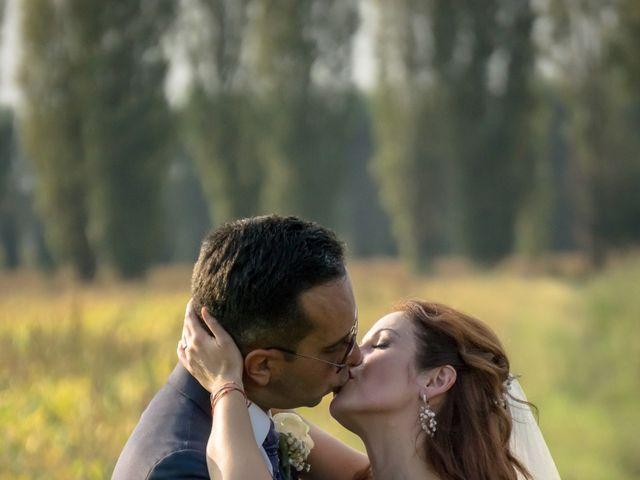 Il matrimonio di Davide e Alexandria a Salgareda, Treviso 21