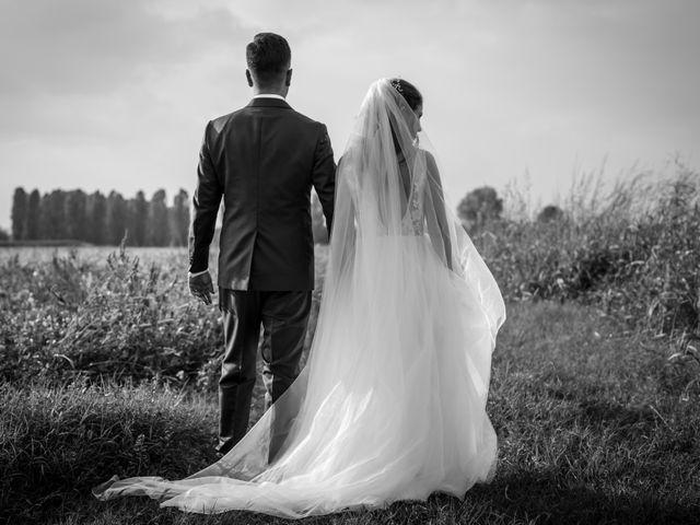 Il matrimonio di Davide e Alexandria a Salgareda, Treviso 23
