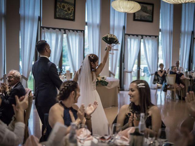 Il matrimonio di Davide e Alexandria a Salgareda, Treviso 24