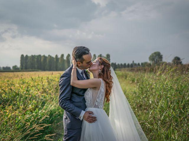 Il matrimonio di Davide e Alexandria a Salgareda, Treviso 27
