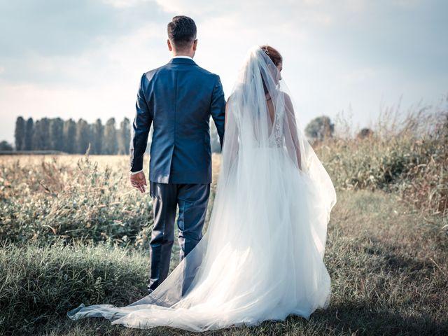 Il matrimonio di Davide e Alexandria a Salgareda, Treviso 30
