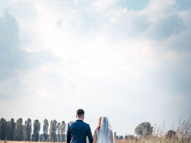 Il matrimonio di Davide e Alexandria a Salgareda, Treviso 31