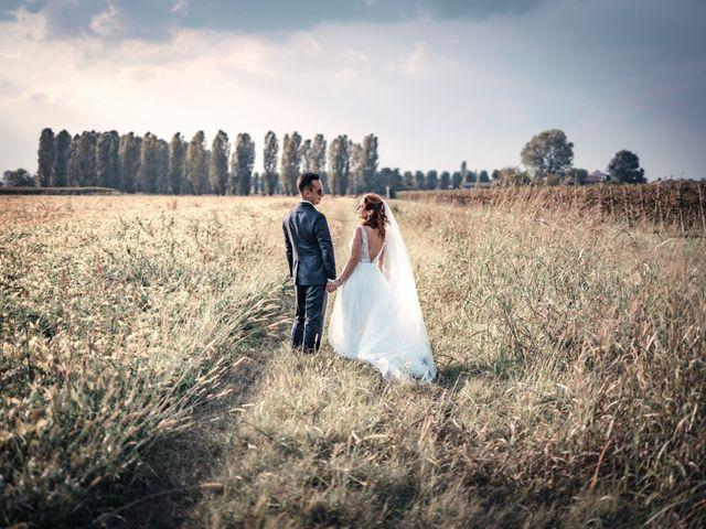 Il matrimonio di Davide e Alexandria a Salgareda, Treviso 34