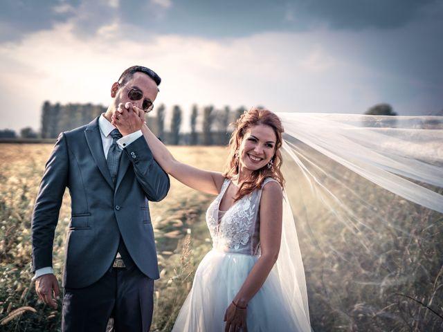 Il matrimonio di Davide e Alexandria a Salgareda, Treviso 35