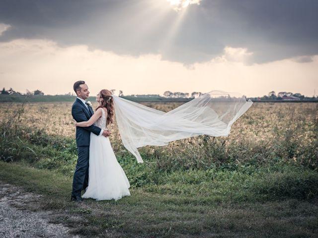 Il matrimonio di Davide e Alexandria a Salgareda, Treviso 40
