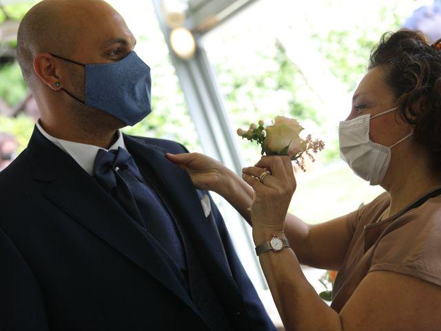 Il matrimonio di Alessio e Michela a Montevecchia, Lecco 34