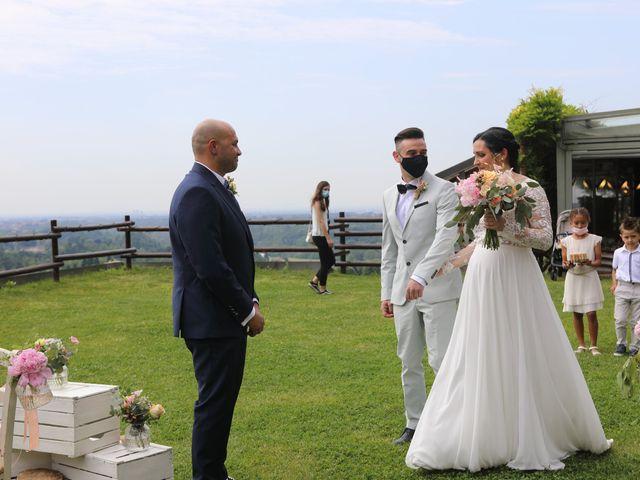 Il matrimonio di Alessio e Michela a Montevecchia, Lecco 40