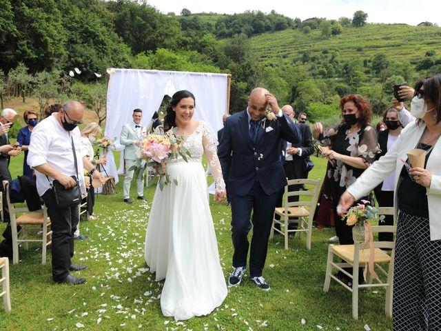 Il matrimonio di Alessio e Michela a Montevecchia, Lecco 43