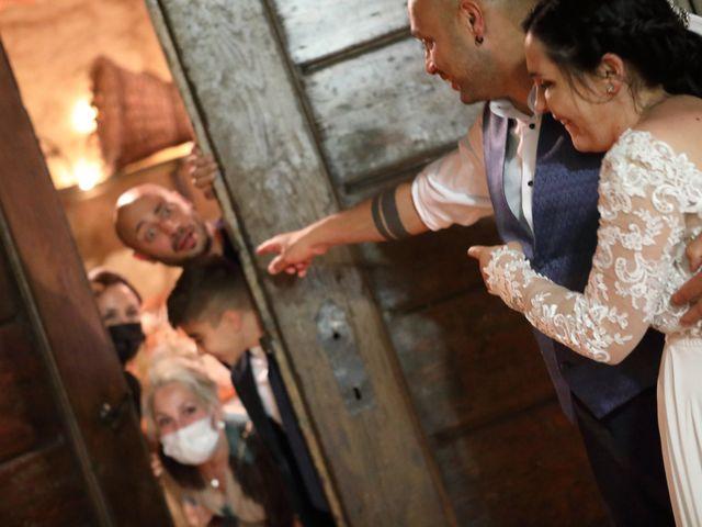 Il matrimonio di Alessio e Michela a Montevecchia, Lecco 56