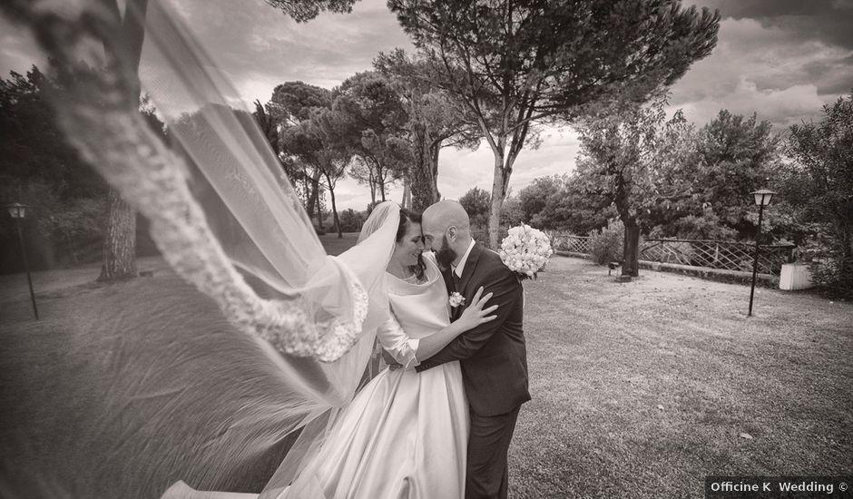 Il matrimonio di Paolo e Simona a Gallese, Viterbo