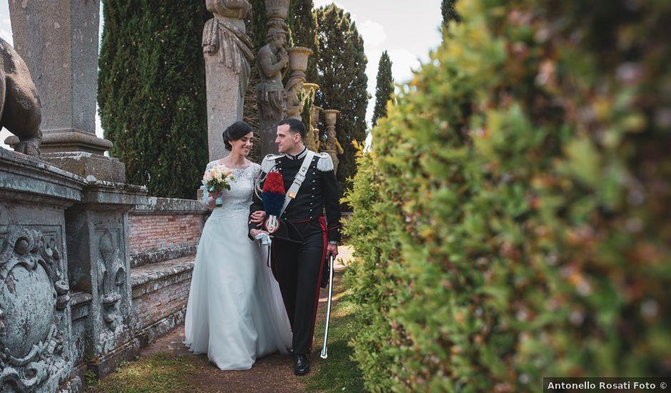 Il matrimonio di Gabriele e Maria Teresa a Roma, Roma