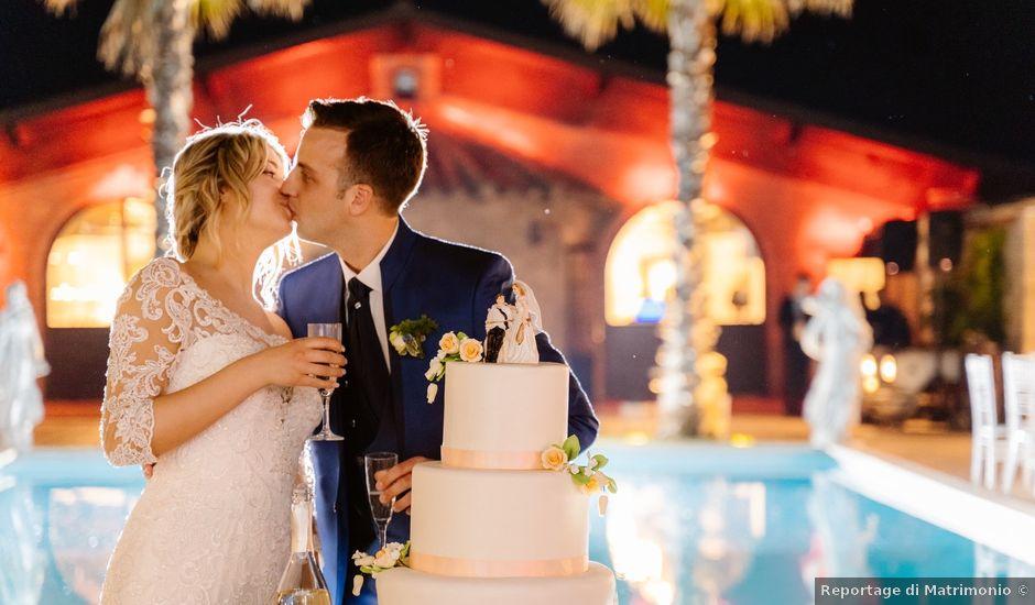Il matrimonio di Giordano e Claudia a Civitavecchia, Roma