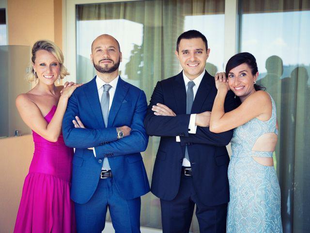 Il matrimonio di Marcello e Ilaria a Costermano, Verona 14