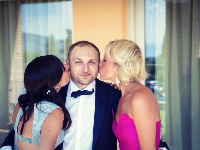 Il matrimonio di Marcello e Ilaria a Costermano, Verona 15