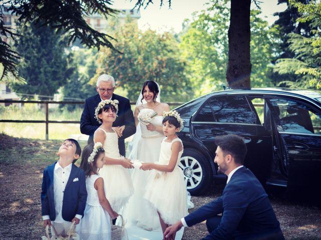 Il matrimonio di Marcello e Ilaria a Costermano, Verona 47
