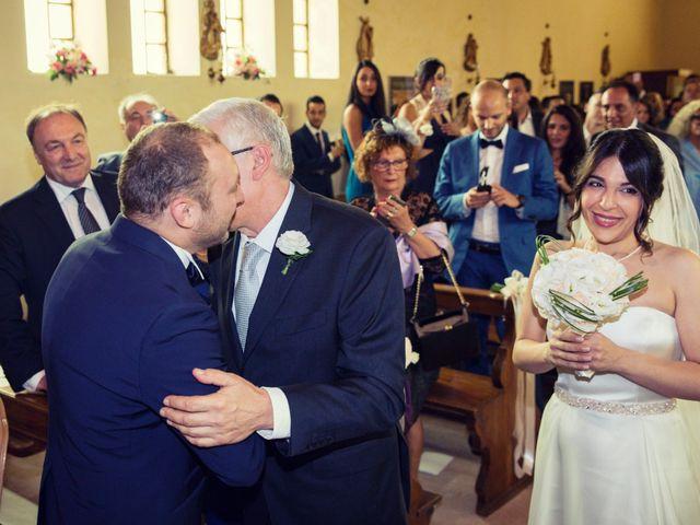 Il matrimonio di Marcello e Ilaria a Costermano, Verona 51