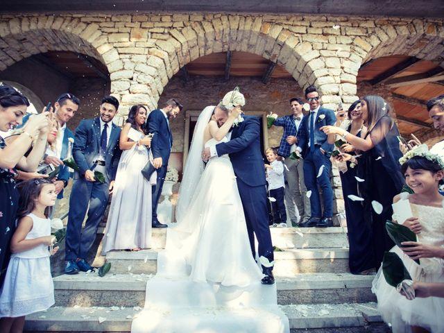 Il matrimonio di Marcello e Ilaria a Costermano, Verona 65