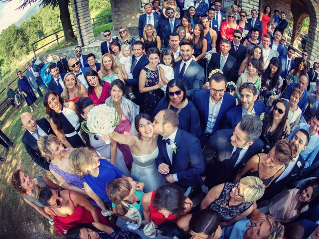 Il matrimonio di Marcello e Ilaria a Costermano, Verona 69