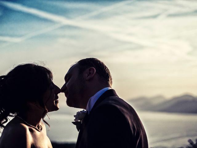 Il matrimonio di Marcello e Ilaria a Costermano, Verona 75