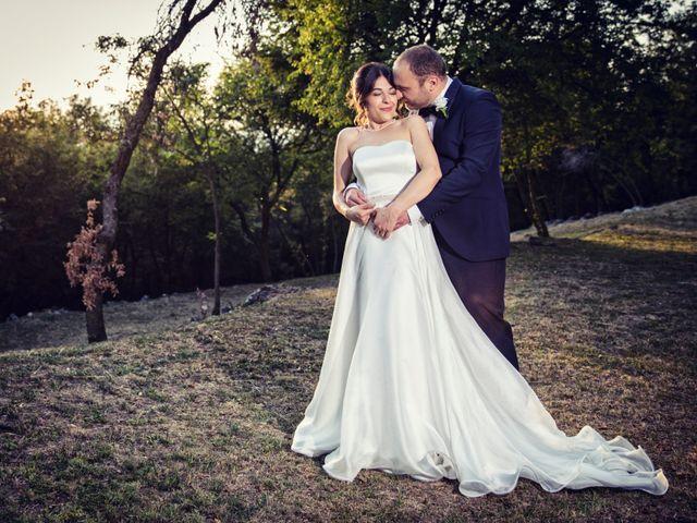 Il matrimonio di Marcello e Ilaria a Costermano, Verona 77