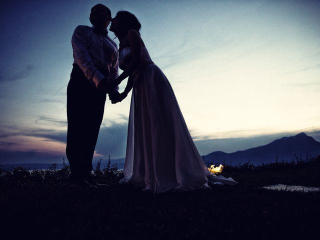 Il matrimonio di Marcello e Ilaria a Costermano, Verona 79