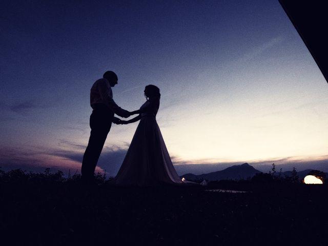 Il matrimonio di Marcello e Ilaria a Costermano, Verona 80