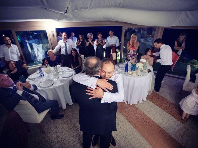 Il matrimonio di Marcello e Ilaria a Costermano, Verona 81
