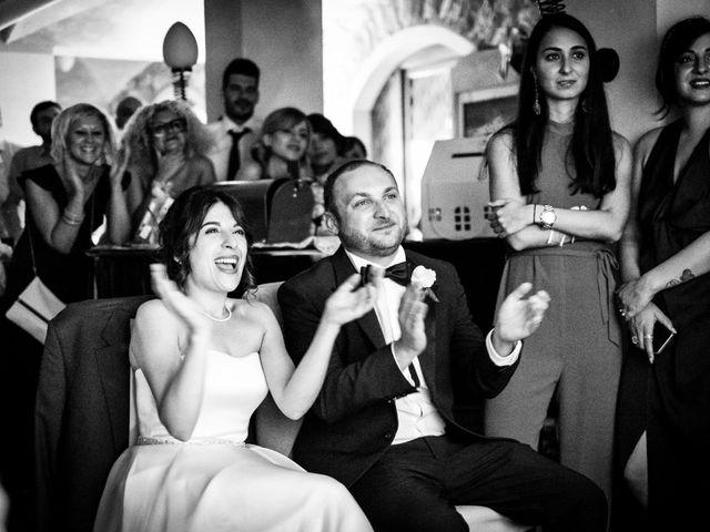 Il matrimonio di Marcello e Ilaria a Costermano, Verona 87