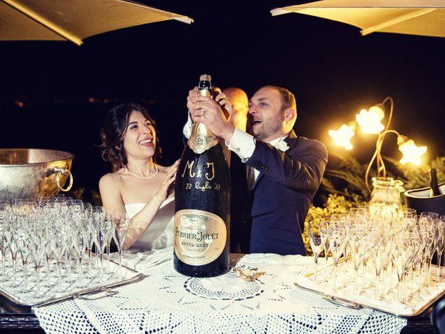Il matrimonio di Marcello e Ilaria a Costermano, Verona 89