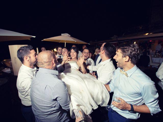 Il matrimonio di Marcello e Ilaria a Costermano, Verona 92